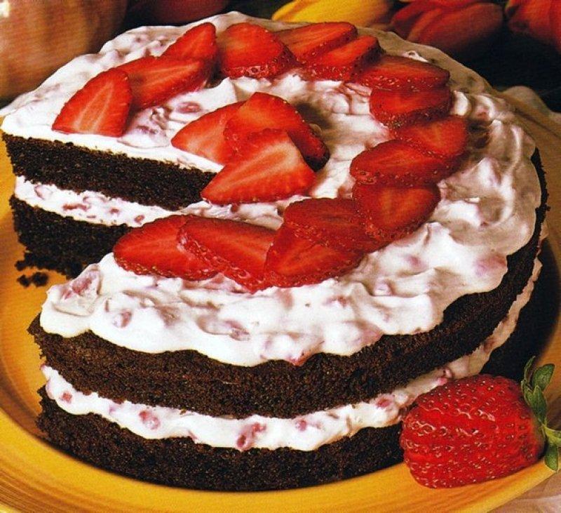 Recette dessert gateau au fraise