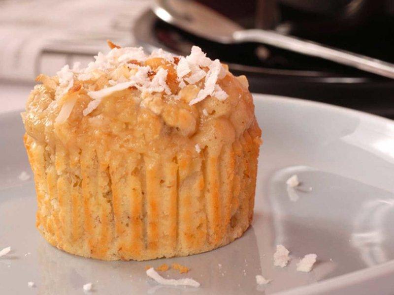recettes sant muffins citrouille et noix de coco grill e sans produit laitier dessert muffins. Black Bedroom Furniture Sets. Home Design Ideas
