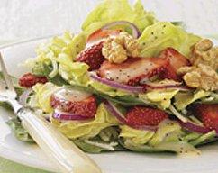 recettes sant salade tag e aux fraises. Black Bedroom Furniture Sets. Home Design Ideas